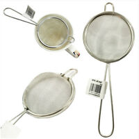 Tea Strainer 7cm Stainless Traditional Wire Mesh Kitchen Filter Sieve Tea Maker
