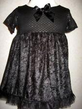 Party Short Sleeve Velvet Dresses (2-16 Years) for Girls