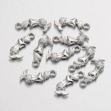BULK Charms Antiqued Silver Mermaid Charms Pendants Wholesale Charms 80 pieces