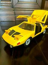 Vintage USSR made Toy Car Ferarri Remote Control Battery Powered 1970s