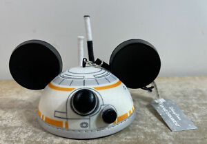 Disney Parks Star Wars BB8 Mickey Mouse Ears Hat Ornament NEW