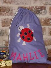 Personalised Library Bag /Toy Bag - Ladybug -