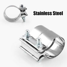 "NEW 2""Stainless Steel Exhausts Mufflers Lap Joint Band Clamp Auto Accessories"