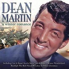 """DEAN MARTIN """"A WINTER ROMANCE"""" CD [NEW AND SEALED ]"""