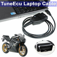 Triumph Motorbike Diagnostic Cable + Tuneecu Tune ECU CD + maps