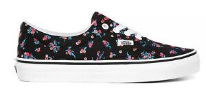 Vans Womens Era Ditsy Floral Fashion Sneakers Black Floral White VN0A4U398KI