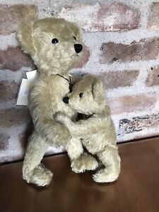 Deans Like Father Son Mohair Traditional Vintage Teddy Bears Limited Edition