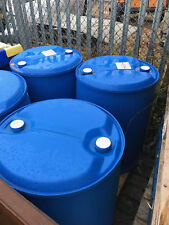USED 205 LITRE 45 GALLON PLASTIC DRUMS