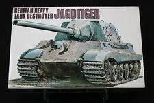 XC068 FUJIMI 1/76 maquette tank char 76002 German Heavy Tank Destroyer JAGDTIGER