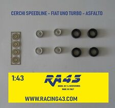 1/43 Cerchi Wheels Fiat Uno Turbo Speedline