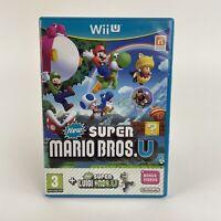 New Super Mario Bros U & New Super Luigi U - Nintendo Wii U Game & PAL PEGI 3