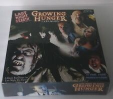 Last Night On Earth GROWING HUNGER EXPANSION Brand NEW Factory Sealed Board Game