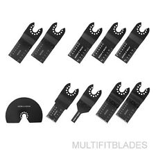 10pc Blade Set for Black & Decker, Matrix Oscillating Tools
