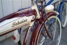 STENCIL REPAINT RESTORE OLD 1950S VINTAGE SCHWINN HORNET STRAIGHTBAR FRAME TANK