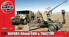 Airfix A02314 1/76 Plastic WWII British Matador Tractor & 40mm AA Gun