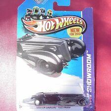 BLACK & CROME Custom Cadillac Fleetwood. HW Showroom.  New in Blister Pack!