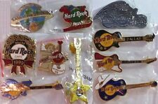 10 Hard Rock Cafe DALLAS 10 PIN LOT Collection HOLIDAYS Guitars & CITY SPECIFIC