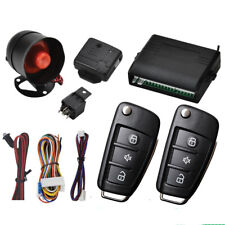 Car Vehicle Burglar Alarm Keyless Entry Security System with 2 Remote Contral