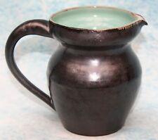 Welsh Studio Pottery Vintage Creigiau Pewter Lustre Jug 11 cm high