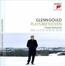 Glenn Gould plays Beethoven: Piano Sonatas Nos. 1-3, 4-10, 12-18, 23, 30-32 (CD, Sep-2012, 6 Discs, Sony Classical)