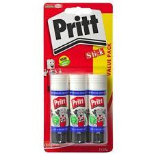 Pritt Glue Stick Value Pack Safe Strong School Office Homework Art Craft 3 x 22g