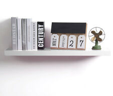Wandregal Bücherregal Wandboard Holz Regale CD Regalboden 60cm Weiß RG9238ws