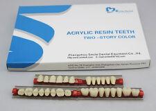 1 Full set 28*1 Dental Acrylic Teeth VITA Color A2 Size 503 Denture New On SALE