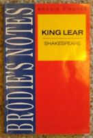 """Brodie's Notes on William Shakespeare's """"King Lear"""" (Pan study ,.9780330502825"""