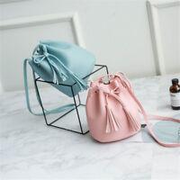 Fashion Womens PU Leather Casual Backpack Travel Bag Shoulder School Bag Handbag