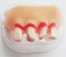 Magic Trick JOKE Fake teeth Realistic Scary Tooth Trick Toys Kids UK SELLER A