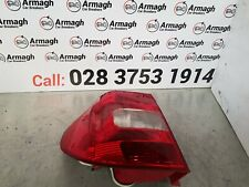09 14 SKODA YETI N/S PASSENGER NEAR SIDE REAR LIGHT