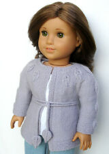 Knitting Pattern - Penelope Sweater For American Girl 18 Inch Doll Clothes