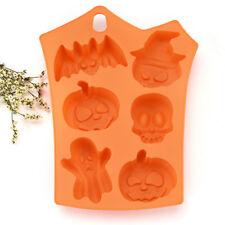 Silicone Mold Creative Happy Halloween Pumpkin Kitchen Bread Cake Decor Tools