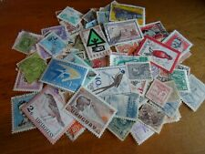 Collection lot 90 different stamps of Uruguay