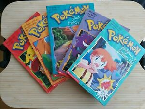 Pokemon Books 1,2,3,4,7 By Tracey West - Scholastic