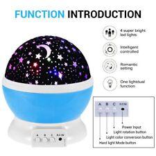 Stern Stimmung Lichtprojektor Lampe  Beleuchtung 360 Grad Romantische Nachlicht