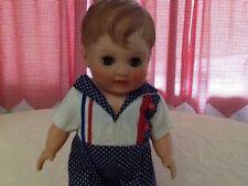 Vintage Horsman Rubber Boy Doll