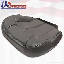 Driver Bottom Vinyl-Seat-Cover Graphite gray 1999 2000 2001 2002 Chevy Silverado
