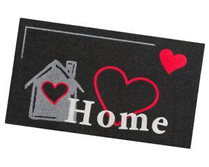 Zerbino ingresso moderno home antiscivolo asciugapassi assorbente tappeto cuore