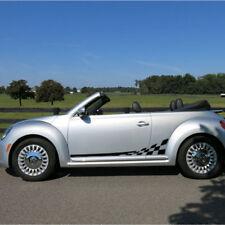VW Volkswagen Beetle 2011-2018 Checkered Side Stripes graphics decal Porsche