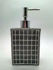 Elegant Shape Stone Liquid Soap Dispenser 350 ml Black