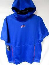 Buffalo Bills Mens X-Large Nike Short Sleeve Pullover Performance Hoodie B4 27