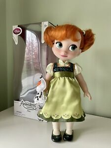 Disney Animator Collection Anna Doll In Box