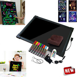 Sensory LED Light Up Drawing/Writing Board Pad Tablet Autism Special Needs Toy