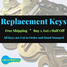 Replacement HON File Cabinet Key - Series ES201 - ES450 -  Buy 1, Get 1 50% off