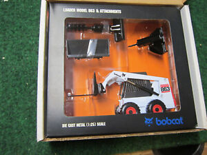 Bobcat 863 and Attachments Toy