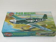 AIRFIX 1/72 Model Aircraft Kit MUSTANG P-51B Unmade & Sealed in Type 6 Box 1970s