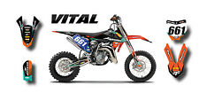 KTM 50 2016 / 2017 - VITAL STYLE -  Full Graphics, custom kit stickers decals