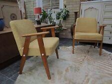 Beech Art Moderne Antique Armchairs