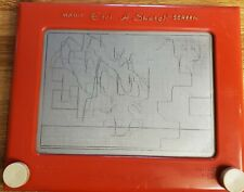 Etch A Sketch Ohio Art Magic Screen Vintage